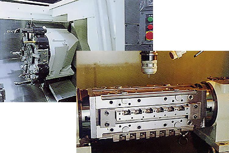 中ロット量産に対応した精密切削加工